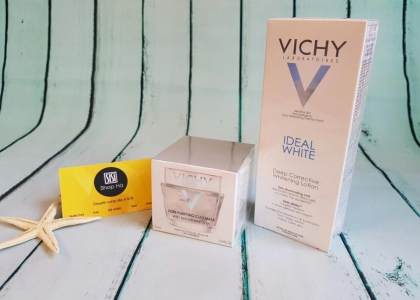 Review Dưỡng trắng da Vichy Ideal White Deep Corrective Whitening Lotion