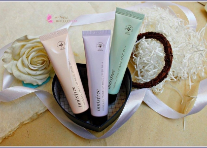 Review Kem Lót Innisfree Mineral Make Up Base SPF30 PA++